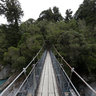 Hokitika Gorge suspension bridge