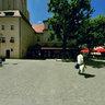 Zielona-Gora (Grünberg) - city square and townhall