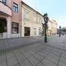 Sombor Main street in front of cinema