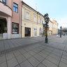 Sombor Main street in front of cinema