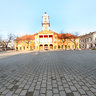 Holly Trinity square Sombor Serbia