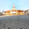 Holly Trinity square Sombor Serbia