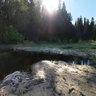 Плотина на реке Радомля