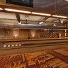 Underground tram station