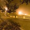 Ротонда в тумане.  Rotunda in the fog