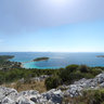 Vrsak peak, island of Murter, Croatia