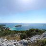 Vrsak peak, island of Murter, Croatia
