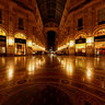 Gallery Vittorio Emanuel II at Night
