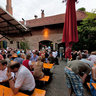Steinbach brewery - Beer garden