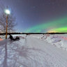 Aurora borealis of 12-03-2011