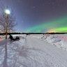 Aurora borealis of 12-03-2011