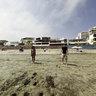 Playa Santa María del Mar, Peru