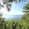 On the Edge of Sven's Bluff, Door County, Wisconsin