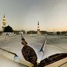 Roof of the Prophet's Mosque-1