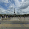 The Eiffeltower in Paris 2011 - A beautiful view from the Trocadero