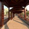 杭州萧山西河桥南侧桥廊内