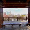 长春朝阳公园----望湖亭二楼中央,Changchun chaoyang park