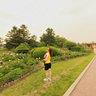 长春公园----鲜花美女06,Changchun park,