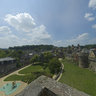 The Castle of Fougeres in France from the outside. A summerday in 2011 24156x12078 pixel