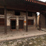 Shanxi - the small village Folk Culture Museum - Third House forecourt
