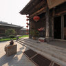 Pingyao Ancient City Temple of Literature - the main entrance hall drama
