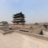 The Ancient City of Ping Yao  - South gate (welcome smoked door) -1