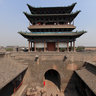 The Ancient City of Ping Yao  - South gate (welcome smoked door) -2
