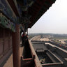 The Ancient City of Ping Yao  - South gate (welcome smoked door)-3