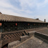 Pingyao Ancient City - Museum of auspicious days - outside the bedroom