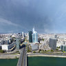 La Defense, Neuilly, Levallois, Aerial shoot, France