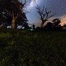 La voie Lactée au-dessus de la Réunion