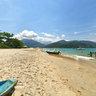 Praia da Ilha Prumirim em Ubatuba SP Brasil