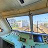 Кабина двухсистемного электровоза компании Siemens УС-1