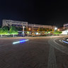 Main Square In Podgorica At Night