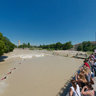 Surfing at Isar high-water