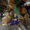Bird Seller, Pasar Pramuka, Jakarta