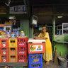 Food Stall Owner, Pasar Pramuka, bird market, Jakarta