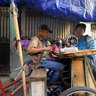 Mobile tailor, Pasar Pramuka, Jakarta