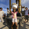 Corn Seller, Kendari ferry port, South East Sulawesi