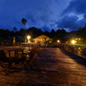 Patuno Resort at night, Wakatobi
