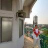 View over Jakarta from Masjid Al Falah Bendungan Hilir