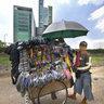 Mobile hardware seller, Jakarta
