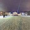 Winternacht am Brandenburger Tor