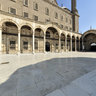 Courtyard  of the Mosque of Muhammad Ali, Citadel, Cairo, Egypt