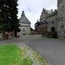 Castle Eisenbach Vorburg mit Kapelle