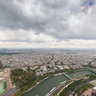 View from Tour Eifel, Paris, France