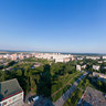 View from the roof of Gagarina 65a, Perm