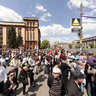 May 9 parade in Dnepropetrovsk
