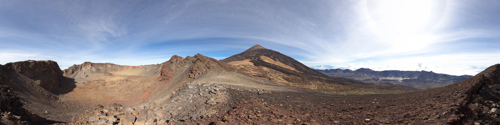 Pico Viejo (Teide), Tenerife, Canary Islands, Spain