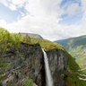 Vettisfossen Waterfall, Utladalen Valley